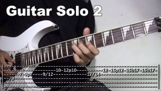 Download Banal Na Aso Santong Kabayo Guitar Solo Lesson Slowed Down Tutorial (WITH TABS) Video