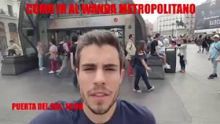 Download EFE Deportes - Cómo ir al Wanda Metropolitano desde la Puerta del Sol Video