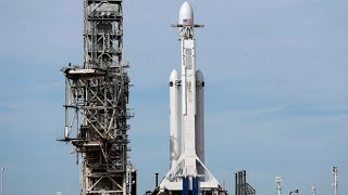 Download SpaceX Falcon Heavy launch Video