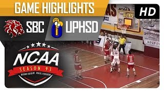 Download UPHSD Altas vs. SBC Red Lions | NCAA 93 | MB Game Highlights | August 17, 2017 Video