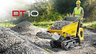 Download Wacker Neuson Kettendumper DT10 Video