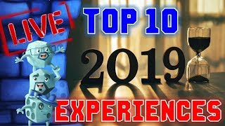 Download Top 10 Experiences of 2019 Video