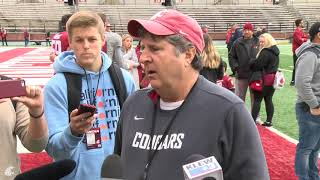 Download WSU Football: Mike Leach after Spring Game 4/20 Video