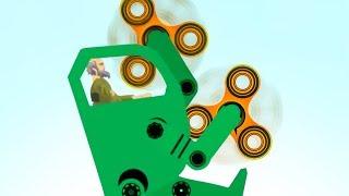 Download FIDGET SPINNER DEATHMACHINE! (Happy Wheels #90) Video
