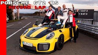Download 2018 Porsche 911 GT2 RS Nurburgring Record Lap Video