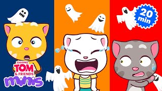 Download THE SPOOKY NIGHT – Talking Tom and Friends Minis Cartoon Compilation (21 Minutes) Video