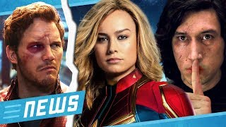 Download Ist Captain Marvel die Ex von Starlord & Star Wars 9 Endgegner nicht Kylo Ren - FLIPPS News Video