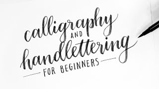 Download How To: Calligraphy & Hand Lettering for Beginners! Tutorial + Tips! Video