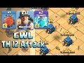 Download CWL Attack 2018! Best 37 Miner 2 Clone Spell With Electro Battle Blimp Easy Destroy Th12 Max Bases Video