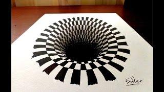 Download Como dibujar una ilusión óptica paso a paso | Selbor Video