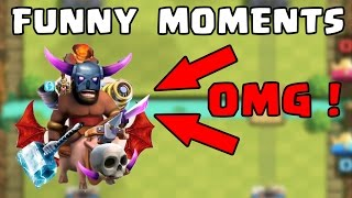 Download Clash Royale Most Funny Moments, Fails, Clutches, Trolls Compilation Video