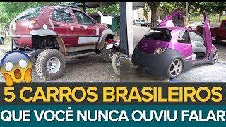 Download 5 CARROS BRASILEIROS QUE VOCÊ NUNCA OUVIU FALAR Video