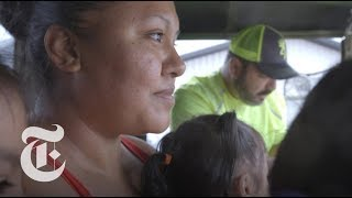 Download Deep in Houston Floodwaters, Families Decide to Stay or Go Video