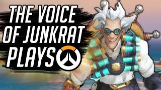 Download THE REAL VOICE OF JUNKRAT PLAYS OVERWATCH!! Video