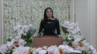 Download Sarah Abushaar Introduces Bill Gates & HH Shk Nasser سارة أبوشعر تقدم بيل غيتس وسموالشيخ ناصر الصباح Video