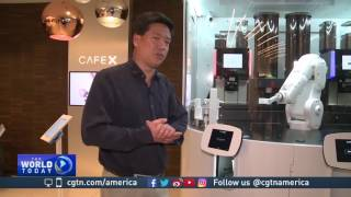Download San Francisco cafe speeds up coffee orders with robot server Video