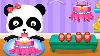 Download Baby Panda's Supermarket - Halloween Party Shopping + Fun Making Ice cream Games For Kids Video