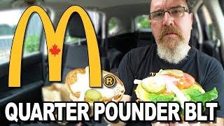 Download McDonald's Quarter Pounder BLT 🥓 (WITHOUT BACON???) 🥓 Video