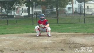 Download 14 yr old Catcher/3B Gary Collins Jr -College Prospect 2021 5'7 170 lb. - PoP Time 2.1 Video