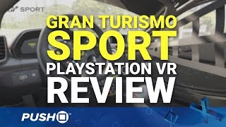 Download Gran Turismo Sport PlayStation VR (PSVR) Review | PlayStation 4 | PS4 Pro Gameplay Footage Video