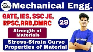 Download 12:00 PM - Mechanical by Neeraj Sir |Day #29 | Strength of Materials | Stress-Strain Curve (Part-1) Video