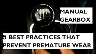 Download 5 Best Practices That Prevent Premature Wear of the Manual Gearbox Video