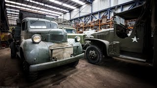 Download Abandoned Garage Filled With Oldtimers In Belgium | BROS OF DECAY - URBEX Video