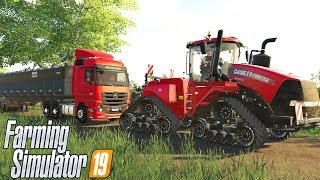 Download PUXANDO O CAMINHÃO CARREGADO DE CALCÁRIO | Farming Simulator 19 Video