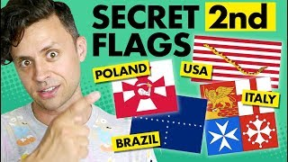 Download Secret SECOND FLAGS of countries! Video