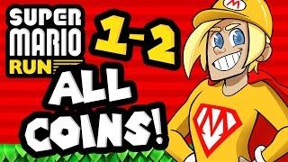 Download Super Mario Run: World 1-2 ALL COINS! Video