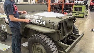 Download Willys Jeep Restoration Short Time Lapse - [No Music] Video