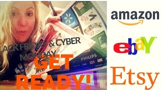 Download How to Get Ready for Black Friday and Cyber Monday!! | Amazon FBA, ebay, etsy Video