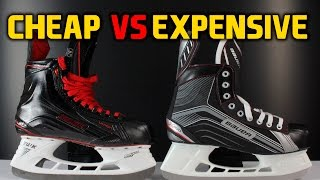 Download Cheap hockey skates VS expensive skates - What's the difference Video