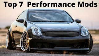 Download G35 / 350z - Top 7 MODs Video