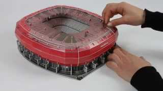 Download Nanostad 3D Allianz Arena München Rot Tutorial [deutsch] Video