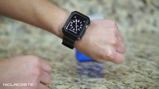 Download Supcase Unicorn Beetle Pro Apple Watch 42mm Case Review + Installation 2015 Video