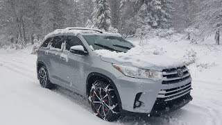 Download 2017 Highlander AWD (Light Snow and Mud on an Incline) Video