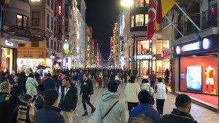 Download İstiklâl Street İstanbul, Evening Walk Video