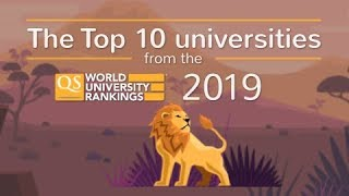 Download Meet the World's Top 10 Universities 2019 Video