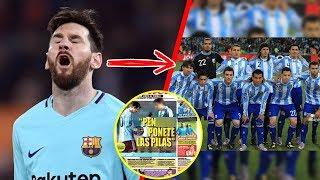 Download El único jugador que TUVO EL VALOR de enfrentar a Messi ¡Y Este fue su TERRIBLE castigo! Video