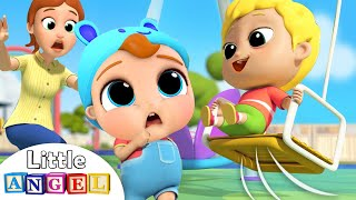 Download Be Safe at the Playground | Little Angel Nursery Rhymes and Kids Songs Video
