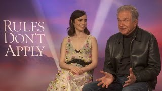 Download Warren Beatty and Lily Collins on Rules Don't Apply Video