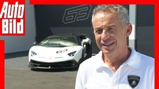 Download Lamborghini Aventador SVJ (2018) Maurizio Reggiani im Interview Video