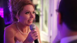 Download Bride Tells Groom she's Pregnant at their Wedding Video
