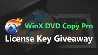 Download WinX DVD Copy Pro License Code | Serial Key Giveaway 2017 Video