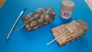 Download Italeri 1:72 Panther Modellbausatz Panzer von Panzerfux.de Video