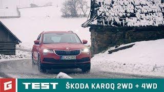 Download SKODA KAROQ - Vianočná jazda - 2WD + 4WD - GARÁŽ.TV Video