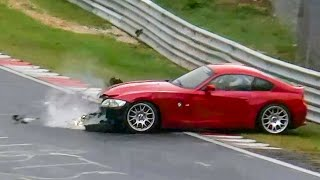 Download NÜRBURGRING EPIC CRASH FAIL & WIN Compilation Nordschleife - Tribute to Automobilchannel 2011 - 2017 Video