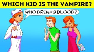 Download 🦇20 VAMPIRE RIDDLES AND ANALYTICAL BRAIN TEASERS WITH ANSWERS🧛♂️ Video