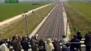 Download Fastest Train 574 km/h - watch the top left speed Video